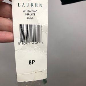 Lauren Ralph Lauren Jackets & Coats - NWT Lauren Ralph Lauren 100% Wool Black Blazer 8 P